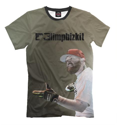 Футболка Print Bar Limp Bizkit футболка классическая printio limp bizkit