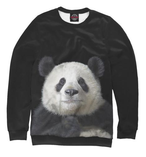 Фото - Мужской свитшот Панда от Print Bar белого цвета