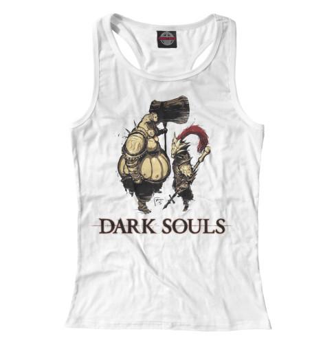 Майка борцовка Print Bar Dark Souls riggs r library of souls