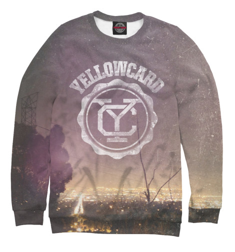 Свитшот Print Bar Yellowcard свитшот print bar сотовый