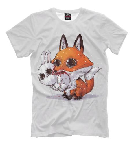 Купить Футболка для мальчиков Лиса и кролик FOX-911387-fut-2