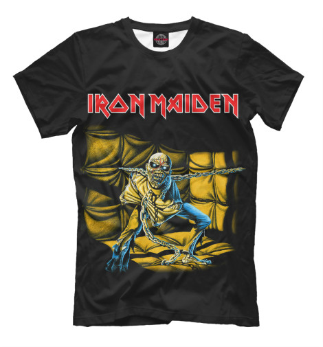 Футболка Print Bar Iron Maiden Piece of Mind виниловая пластинка iron maiden piece of mind