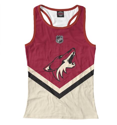 Майка борцовка Print Bar Arizona Coyotes футболка для беременных printio arizona coyotes