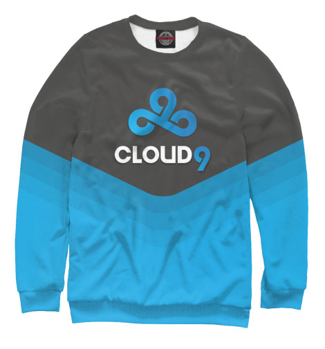 Свитшот Print Bar Cloud 9 Team