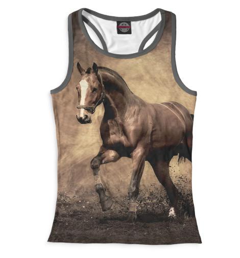 Майка борцовка Print Bar Лошади куплю телегу к лошади в гродно