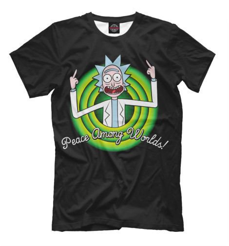 Купить Мужская футболка Peace Among Worlds RNM-419837-fut-2