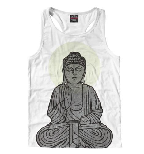 Майка борцовка Print Bar Buddha Shakyamuni buddha bowls gesund