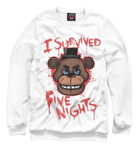 Свитшот Print Bar Five Nights at Freddy's подушка printio five nights at freddy s файф найт эт фредди