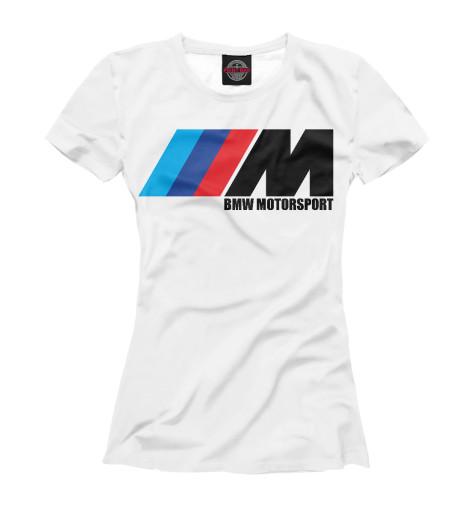 Футболка Print Bar BMW Motorsport майка print bar bmw motorsport