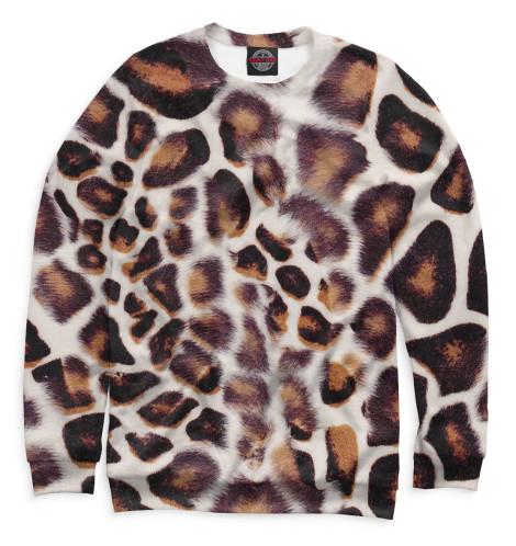 Женский свитшот Дымчатый леопард