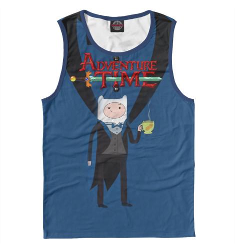 Майка Print Bar Фин Adventure Time