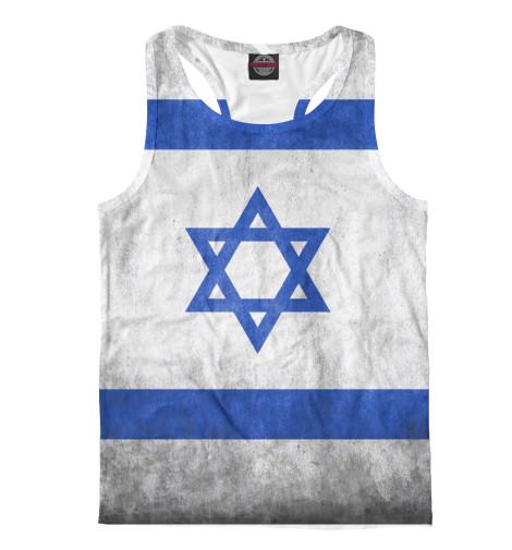 Майка борцовка Print Bar Флаг Израиля майка борцовка print bar звёздный лорд