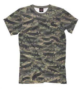 91fffb7d096bb Футболки для рыбаков - купить прикольные футболки с надписями и ...