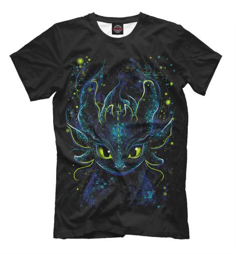 Купить Мужская футболка Ночная Фурия APD-154499-fut-2