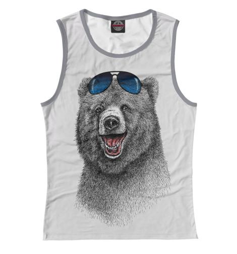 Майка Print Bar Счастливый медведь свитшот print bar счастливый медведь