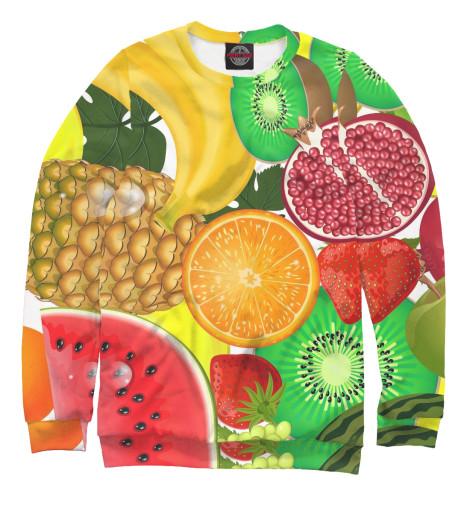 Свитшот Print Bar Фрукты и ягоды