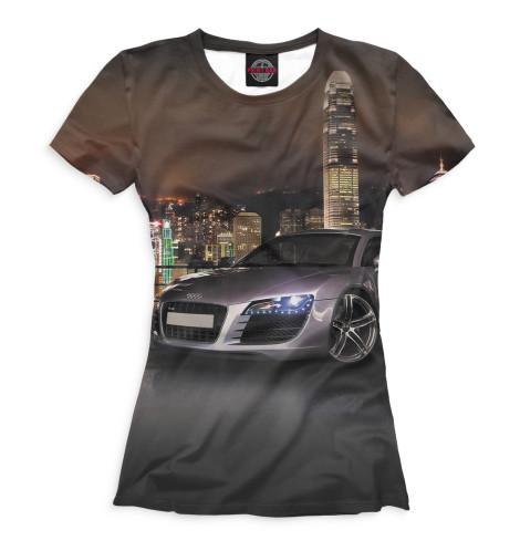 Женская футболка Audi R8