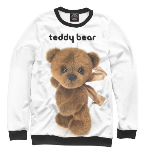 Свитшот Print Bar Teddy bear свитшот print bar война миров z
