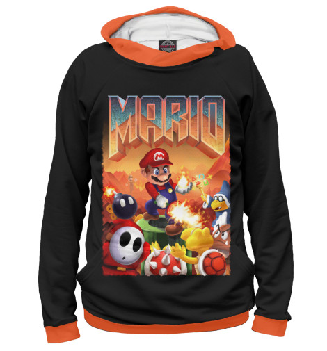 Худи Print Bar Mario Doom худи print bar mario doom