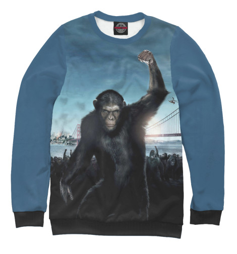 Свитшот Print Bar Восстание планеты обезьян поло print bar война планеты обезьян
