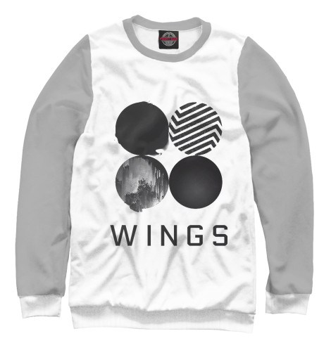 Свитшот Print Bar Wings BTS 2017 bts live trilogy episode iii the wings tour in seoul release date 2017 11 01