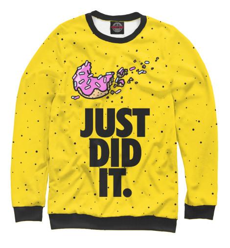 Купить Свитшот для девочек Just Did It SIM-120818-swi-1