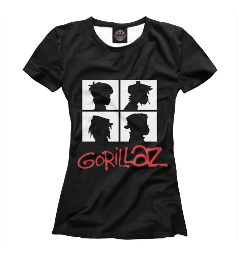 Купить Футболка для девочек Gorillaz GLZ-547914-fut-1