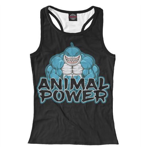 Майка борцовка Print Bar Animal power майка борцовка print bar animal power