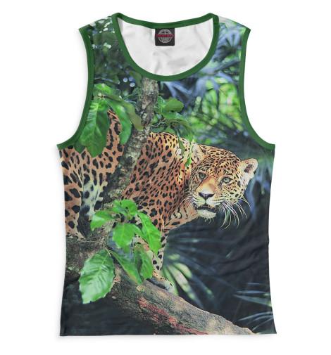 Женская майка Леопард