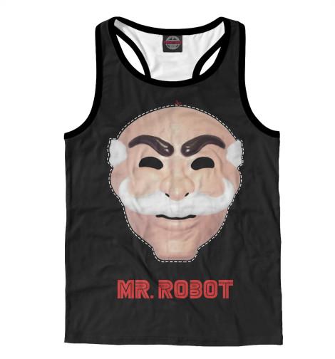Майка борцовка Print Bar Mr. robot свитшот print bar mr robot