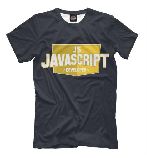 Футболка Print Bar Javascript