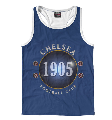 Майка борцовка Print Bar FC Chelsea 1905 майка борцовка print bar fc chelsea 1905
