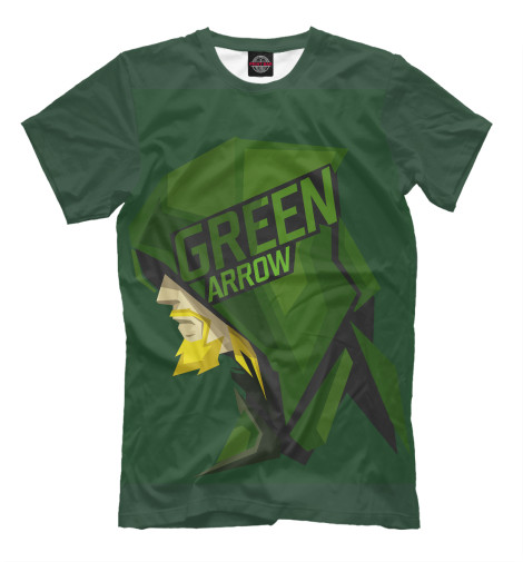 Футболка Print Bar Green Arrow майка print bar green arrow