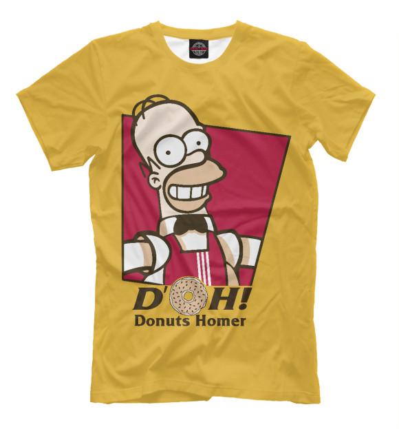 Купить Мужская футболка Homer Donuts SIM-684228-fut-2