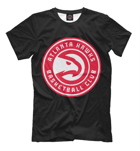 Футболка Print Bar Atlanta Hawks свитшот print bar tony hawks underground 2
