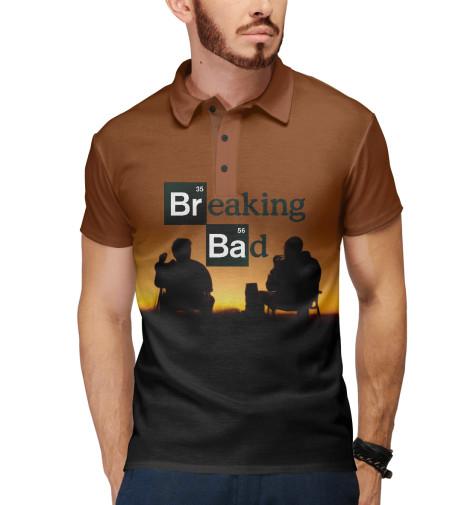Поло Print Bar Breaking bad breaking bad блокнот