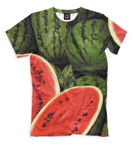 Мужская футболка Арбузы