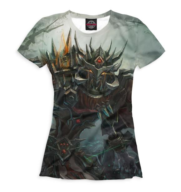 Купить Женская футболка World of Warcraft WOW-237406-fut-1