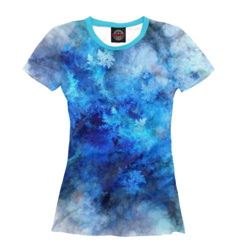 Женская футболка Морозная свежесть