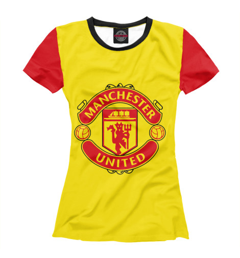 Футболка Print Bar Manchester United футбольная форма top thai manchester united 2014 15 n98 jacket chelsea