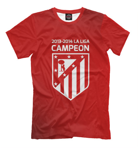 Футболка Print Bar Campeon La Liga 2013-2014