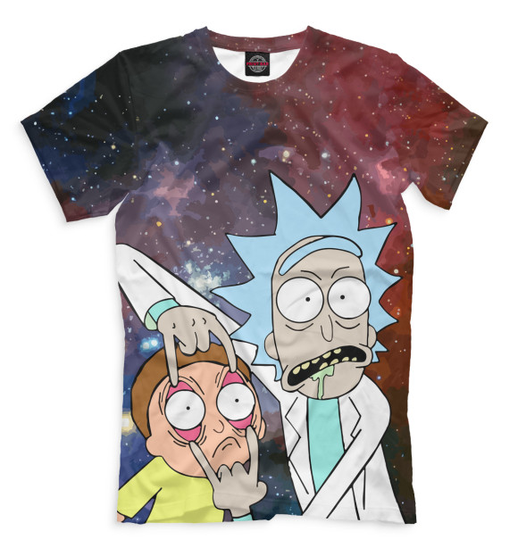 Купить Мужская футболка Рик и Морти RNM-466354-fut-2