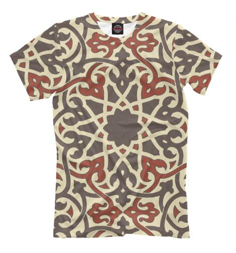 Купить Мужская футболка Мусульманский Орнамент ISL-805407-fut-2