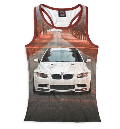 Женская майка-борцовка BMW