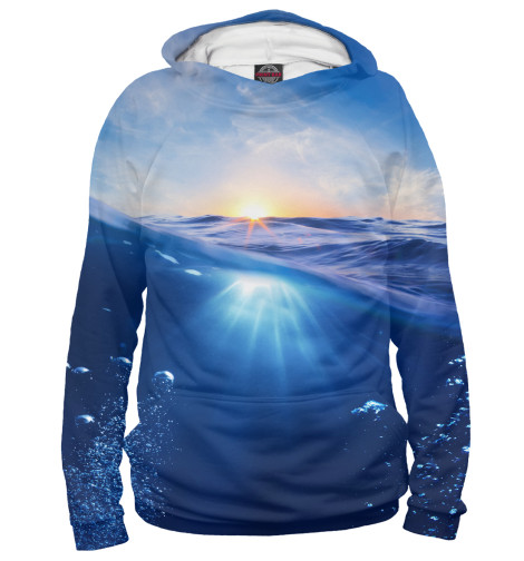 Худи Print Bar Морской рай худи print bar гладкое море