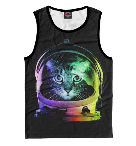 Майка Print Bar Space Cat лонгслив printio космо кот space cat page 5