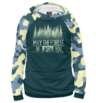 Мужское худи May The Forest