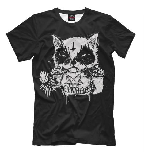 Футболка Print Bar Dark Cat