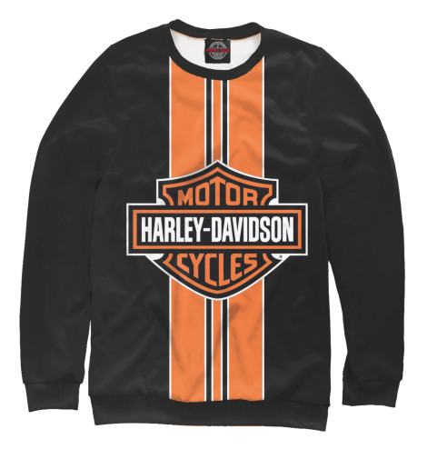 Свитшот Print Bar Harley-Davidson chrome custom motorcycle skeleton mirrors for harley davidson softail heritage classic