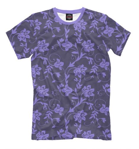 Футболка Print Bar Floral (Purple) худи print bar floral purple